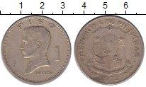 Изображение Барахолка Филиппины 1 писо 1972 Медно-никель XF-