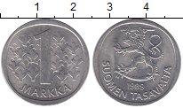 Изображение Барахолка Финляндия 1 марка 1989 Медно-никель XF