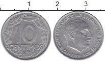Изображение Барахолка Испания 10 сентимо 1959 Медно-никель XF-