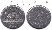 Изображение Барахолка Канада 5 центов 2012 Медно-никель