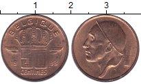 Изображение Дешевые монеты Бельгия 50 сентим 1983 Медь XF+