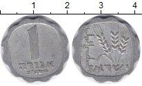 Изображение Дешевые монеты Израиль 1 агор 1974 Алюминий VF+