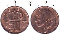 Изображение Дешевые монеты Бельгия 50 сентим 1983 Бронза XF