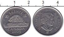 Изображение Барахолка Канада 5 центов 2009 Медно-никель
