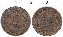 Изображение Барахолка Тунис 10 миллим 1960 Латунь VF