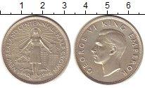 Изображение Монеты Новая Зеландия 1/2 кроны 1940 Серебро XF