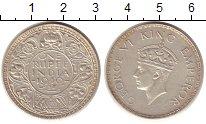 Изображение Монеты Индия 1 рупия 1940 Серебро XF Георг VI
