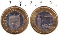 Изображение Монеты Финляндия 5 евро 2013 Биметалл UNC- Аландские острова.Ма