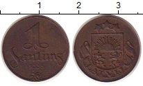 Изображение Монеты Латвия 1 сантим 1935 Бронза XF