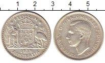Изображение Монеты Австралия 1 флорин 1938 Серебро XF