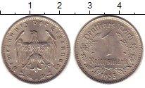 Изображение Монеты Германия 1 марка 1935 Медно-никель XF