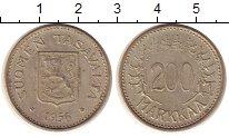Изображение Монеты Финляндия 200 марок 1956 Серебро XF