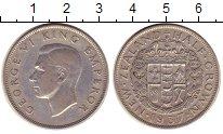 Изображение Монеты Новая Зеландия 1/2 кроны 1937 Медно-никель XF-