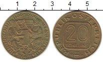 Изображение Монеты Австрия 20 шиллингов 1986 Латунь XF