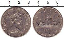 Изображение Монеты Канада 1 доллар 1976 Медно-никель XF