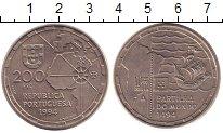 Изображение Монеты Португалия 200 эскудо 1994 Медно-никель UNC- 500 - летие  кругосв