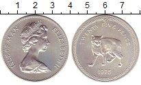Изображение Монеты Остров Мэн 25 пенсов 1975 Серебро UNC-