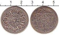 Изображение Монеты Непал 1 мохар 0 Серебро XF-