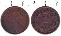 Изображение Монеты Нью-Брансуик 1 цент 1864 Бронза VF