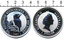 Изображение Монеты Австралия 1 доллар 1997 Серебро Proof
