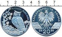 Изображение Монеты Польша 20 злотых 2005 Серебро Proof-
