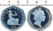 Изображение Монеты Великобритания 50 пенсов 1997 Серебро Proof- Елизавета II