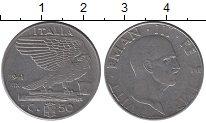 Изображение Монеты Италия 50 сентесим 1941 Никель XF