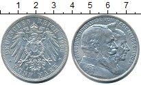 Изображение Монеты Баден 5 марок 1906 Серебро XF+
