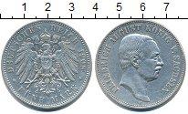 Изображение Монеты Саксония 5 марок 1908 Серебро XF Фридрих Август