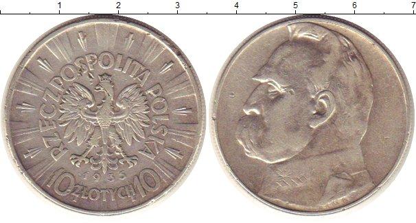 Польша 10 злотых, 1935 стоимость монеты 1 копейка 1914 года спб