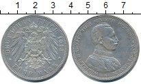 Изображение Монеты Пруссия 5 марок 1913 Серебро XF- Вильгельм II