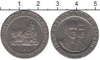 Изображение Монеты Испания 200 песет 1991 Медно-никель UNC