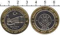 Монета Турция 1000000 лир Биметалл 2003 UNC- фото