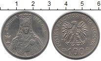 Изображение Монеты Польша 100 злотых 1988 Медно-никель UNC- Королева  Ядвига