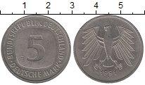 Изображение Монеты ФРГ 5 марок 1991 Медно-никель XF