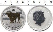 Монета Австралия 1 доллар Серебро 2009 Proof- фото