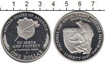 Изображение Монеты США 1 доллар 1997 Серебро Proof