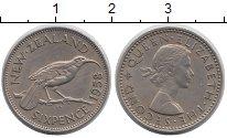Изображение Монеты Новая Зеландия Новая Зеландия 1958 Медно-никель XF