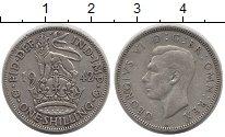 Изображение Монеты Великобритания 1 шиллинг 1942 Серебро VF Георг VI.  Английски