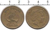 Изображение Монеты Австралия 1 доллар 2002 Латунь XF-