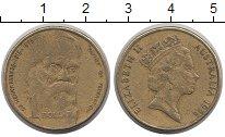 Изображение Монеты Австралия 1 доллар 1996 Латунь XF-