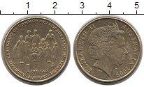 Изображение Монеты Австралия 1 доллар 2009 Латунь XF+