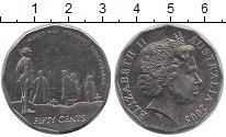 Изображение Монеты Австралия 50 центов 2005 Медно-никель XF