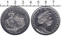 Изображение Мелочь Великобритания Остров Мэн 1 крона 2015 Медно-никель UNC