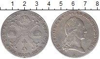 Изображение Монеты Нидерланды 1 талер 1796 Серебро XF- Австрийские Нидерлан