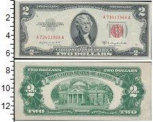 Изображение Боны США 2 доллара 1953  XF Джеферсон