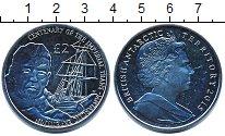 Изображение Мелочь Антарктика 2 фунта 2015 Медно-никель UNC