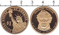 Изображение Монеты США 1 доллар 2009 Латунь Proof 12 - ый  Президент
