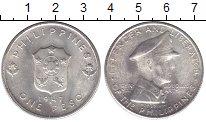 Изображение Монеты Филиппины 1 песо 1947 Серебро XF+