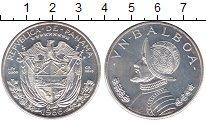 Изображение Монеты Панама 1 бальбоа 1966 Серебро UNC-